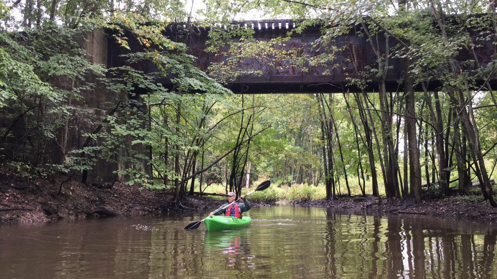 crockery creek paddle - grand river greenway