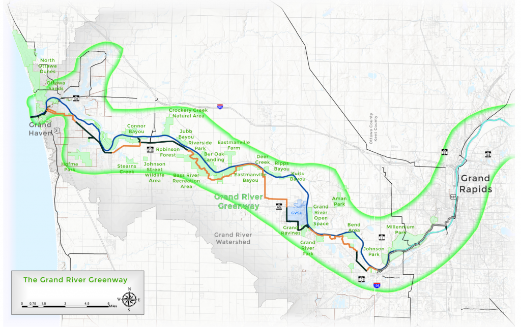 grand river greenway map